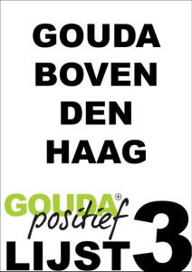 Gouda boven Den Haag